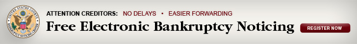 Electronic Bankruptcy Noticing Program