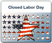 Office Closures for Labor Day holiday