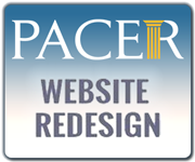 New PACER Website