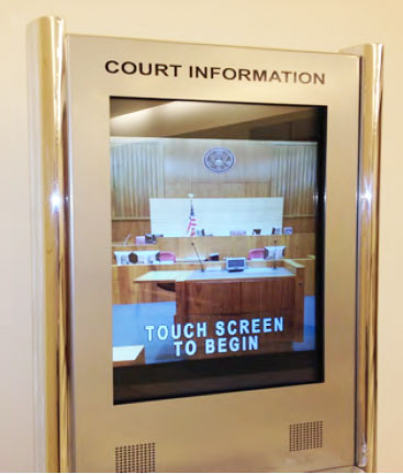 Interactive Court Kiosks